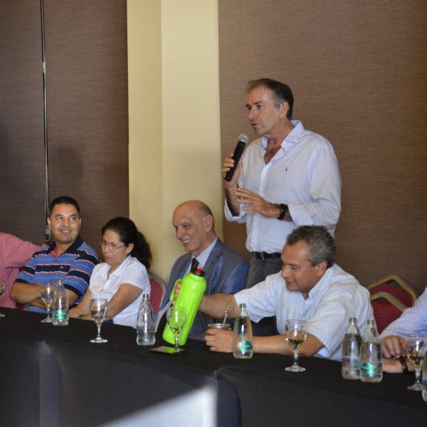 Humberto Schiavoni conformó la estructura política de Cambiemos