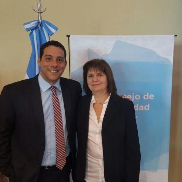 """Marcelo Pérez tiene una relación """"muy personal"""" con Patricia Bullrich"""