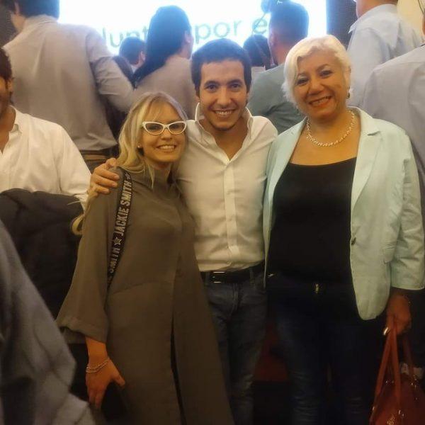 """Pedro Puerta fue ovacionado en el lanzamiento de """"Juntos por el Cambio"""""""