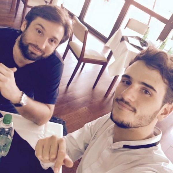 Pepe Pianesi se va a China con Piter Robledo